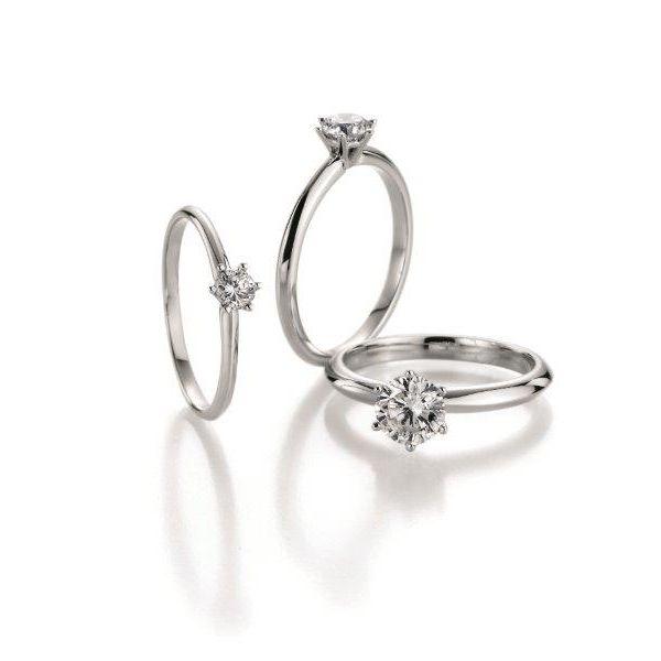 Solitär Verlobungsringe in verschiedenen Steingrößen - ab 490,00€