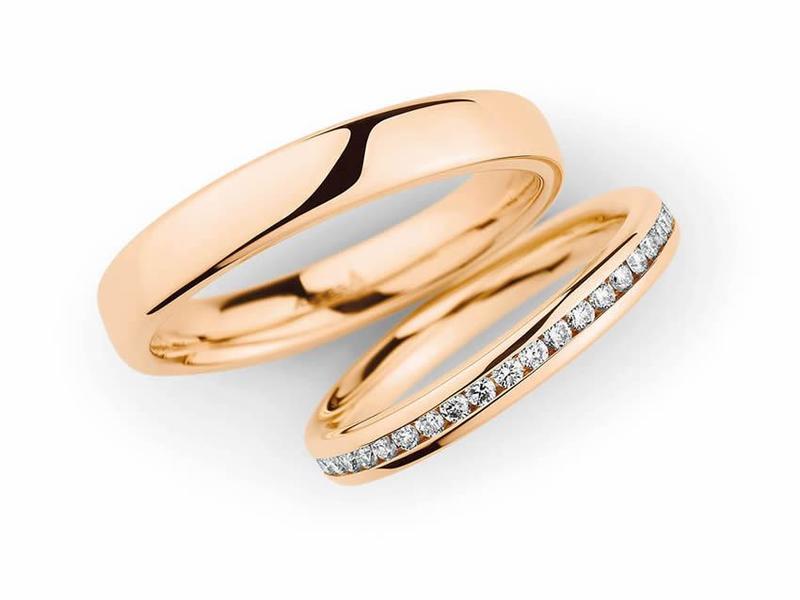 Traumhafte Roségold Ringe - Paarpreis Roségold ab 3.500,00€