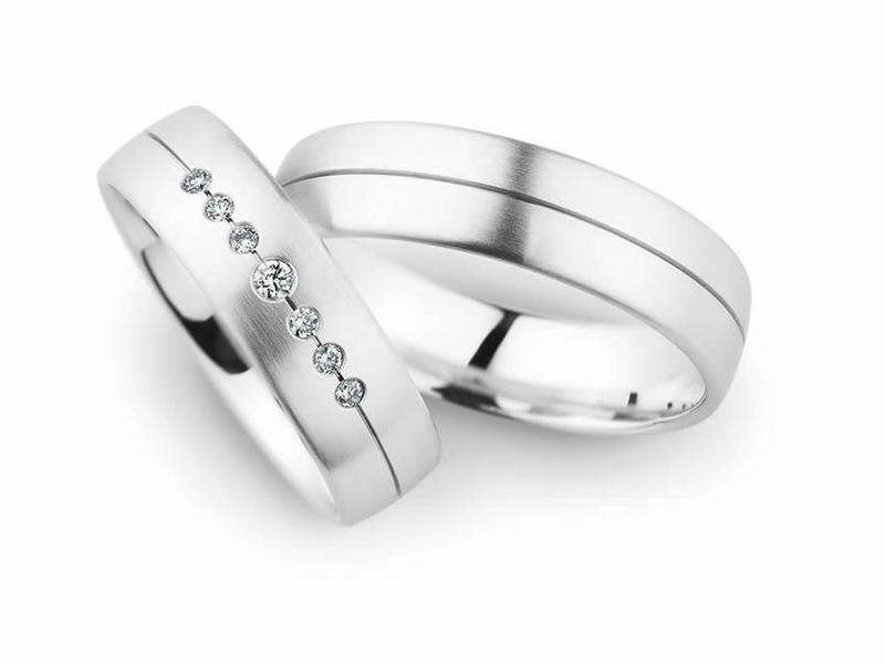 Weißgold und bezaubernde Diamanten - Paarpreis ab 1.800,00€