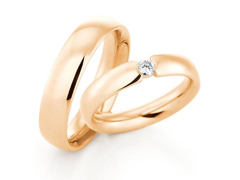 Ehering in klassischem Gold - Paarpreis ab 2.500,00€