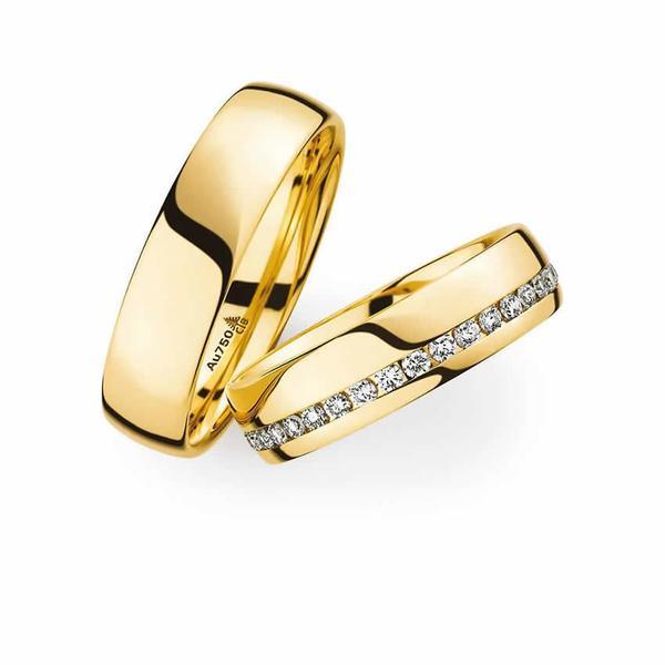 Gelbgold Trauringe - Paarpreis ab 2.200,00€