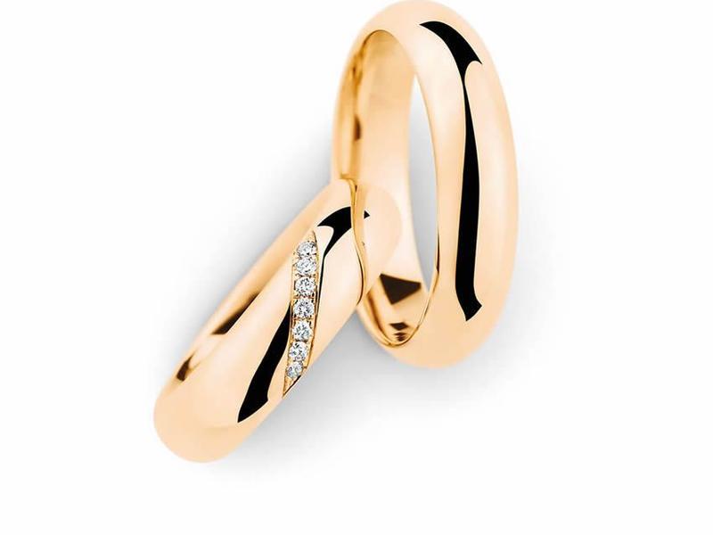 Wundervolle Eheringe aus Roségold - Paarpreis ab 2.500,00€